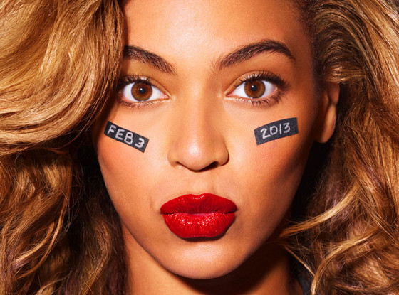 Beyonce will be the half time performer for the Superbowl